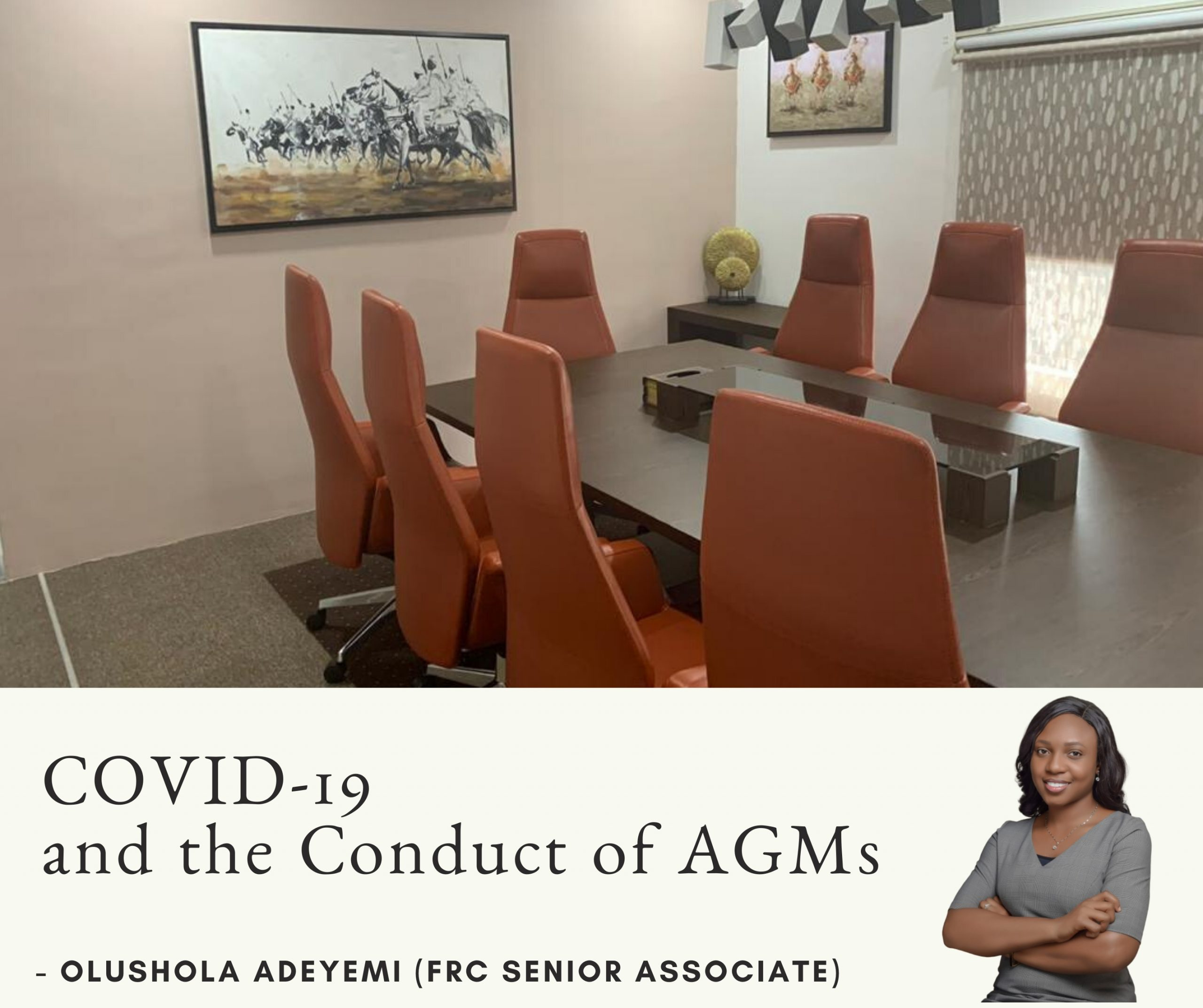 COVID-19 and the Conduct of AGMs