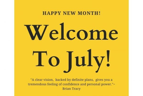 Welcome to the Month of July ❤️